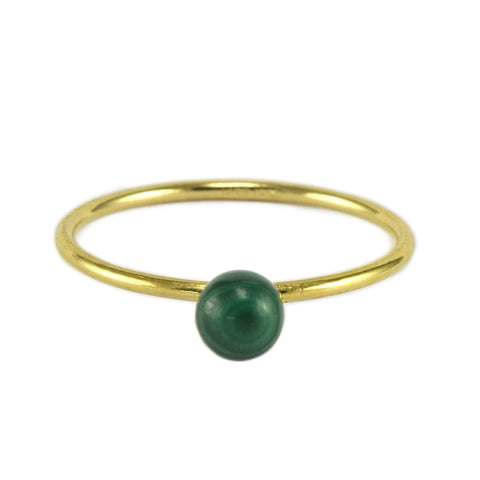 Malachite BB Ring