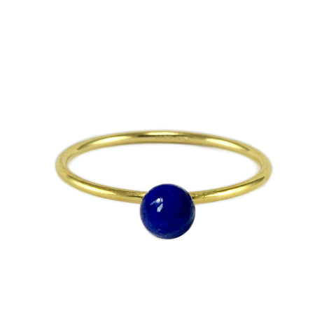 Lapis BB Ring