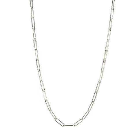 SIlver Linear Link Chain