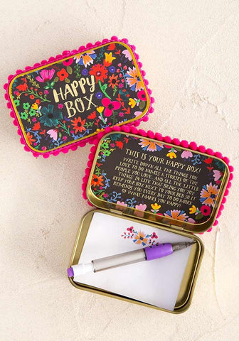Floral Happy Box Prayer Box