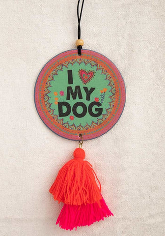 I Heart My Dog Air Freshener