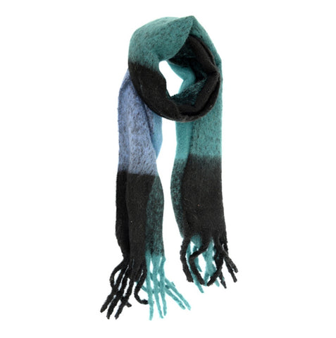 Blue Jay Colorblock Scarf