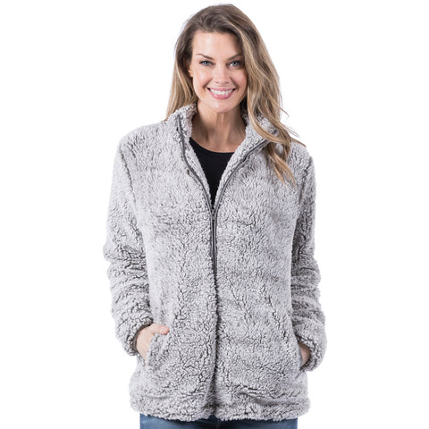 KD Gray Sherpa Jacket