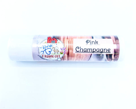 Pink Champagne All Natural Lip Balm