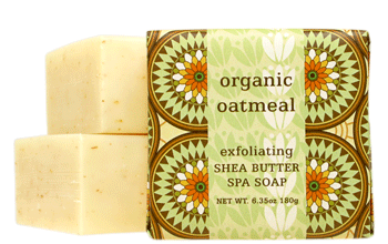 Organic Oatmeal Small Square Soap