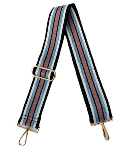 Ahdorned Adjustable Strap Black Blue Pink Guitar Strap Bag Strap Spring accessory