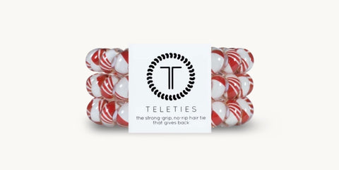 Candy Cane Large Teleties
