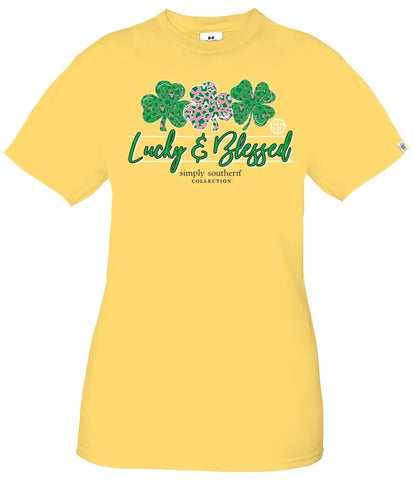 Simply Southern Lucky Sunflower Shirt