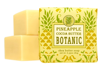 Pineapple Cocoa Butter Small Square Soap
