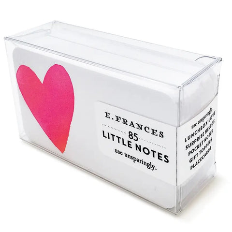 Big Heart Little Notes