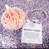 TJ Birthday Wishes Bracelet Mauve Jade