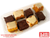 Mini Carrot Cakes y Brownies - Carnation Mes del Amor y la Amistad
