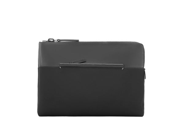 Fabric + Leather Portfolio Case