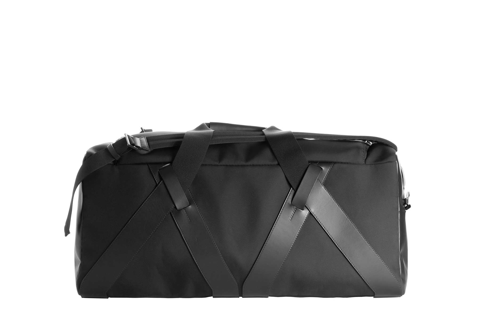 Fabric + Leather Duffle
