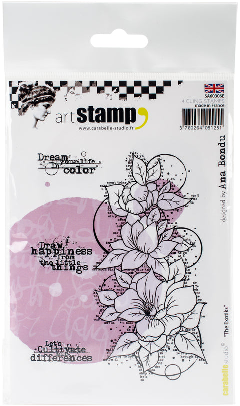 Carabelle Studio Cling Stamp A6 By Ana Bondu-The Exotiks