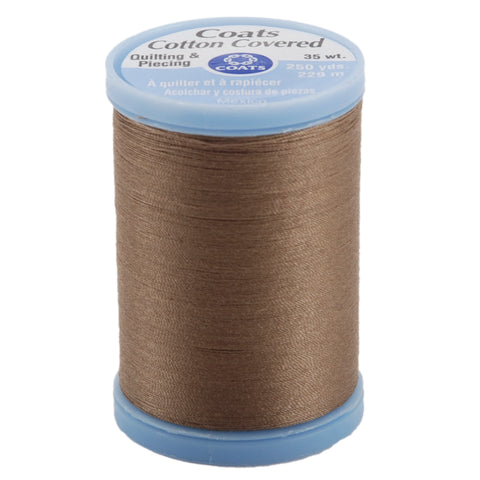 Coats Cotton Covered Quilting & Piecing Thread 250yd-Driftwood