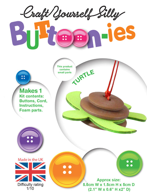 Buttoon-ies Kit-Turtle