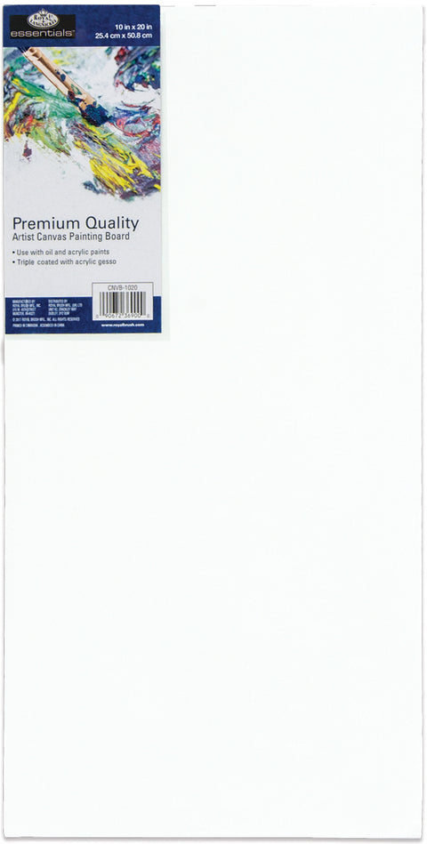 "essentials(TM) Premium Canvas Board-10""X20"""