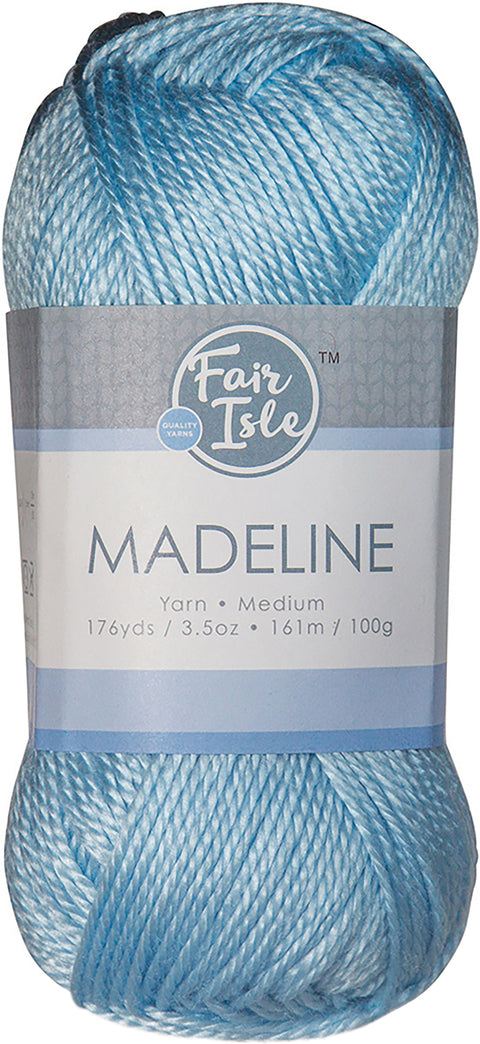 Fair Isle Madeline Yarn-Wave