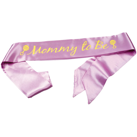 "Sash 3.5""X8'-Mommy To Be"