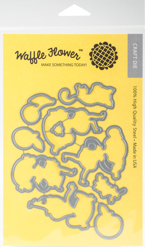 Waffle Flower Die-Fruity Thank You