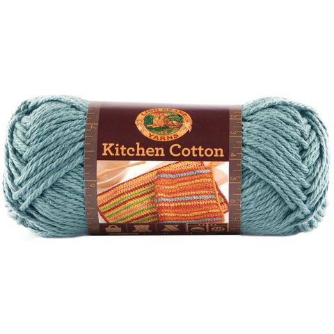 Lion Brand Kitchen Cotton Yarn-Blue Ice