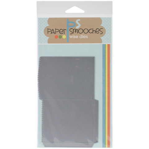 "Paper Smooches Die-Deco Bag 2.5""X3.5"""