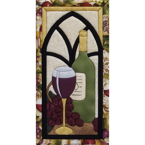 Wine Time Quilt Magic Kit-Wine Timme