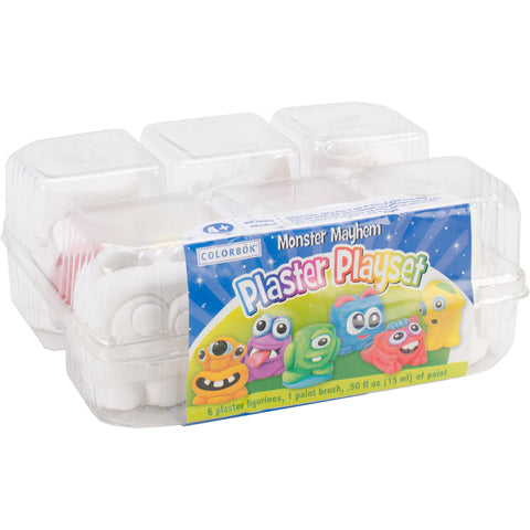 Plaster Playset-Monsters