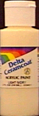 Ceramcoat Acrylic Paint 2oz-Territorial Beige - Opaque