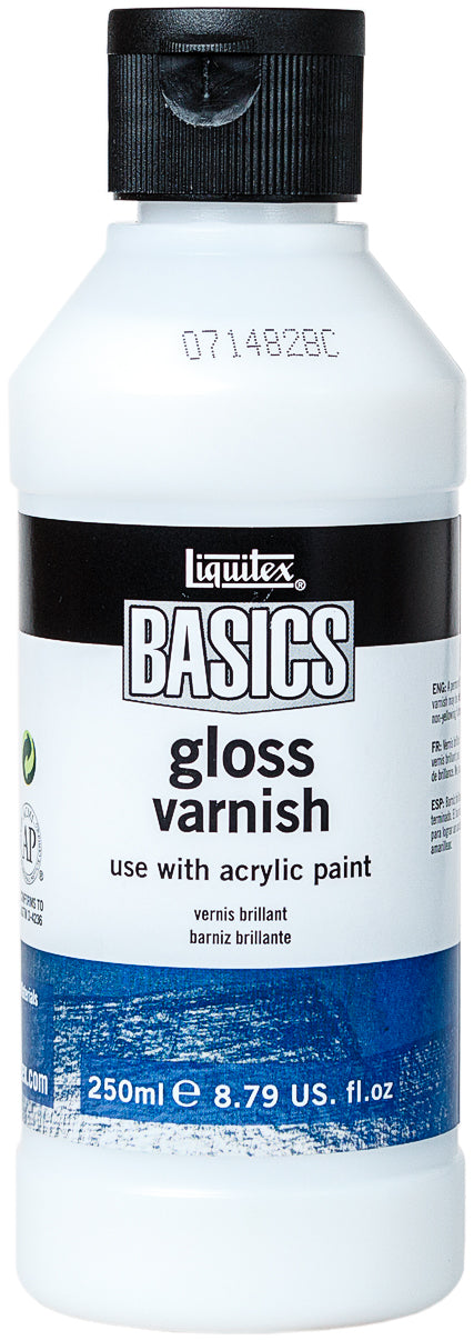 Liquitex BASICS Gloss Varnish 250ml-