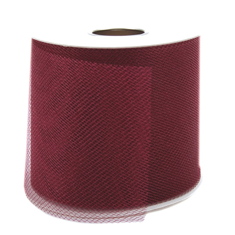 "Falk Diamond Net Mesh 3""X25yd Spool-Wine"