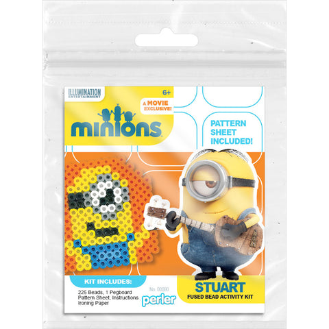 Perler Minions Fused Bead Kit-Stuart