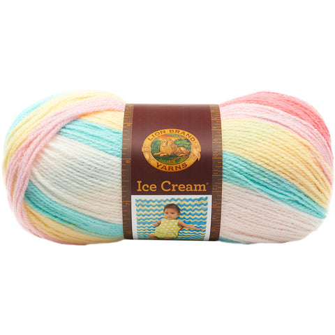 Lion Brand Ice Cream Yarn-Tutti Frutti