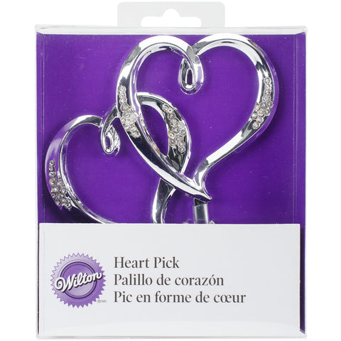 "Cake Pick 5""-Double Heart"