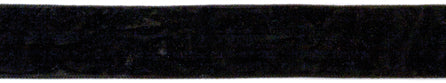 "Crushed Velvet Ribbon .75""X1yd-Black"