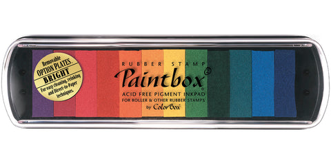 ColorBox Pigment Ink Pad 12 Colors-Bright