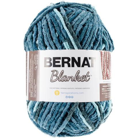 Bernat Blanket Big Ball Yarn-Teal Dreams