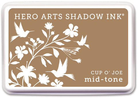 Hero Arts Midtone Shadow Ink Pad-Cup O' Joe