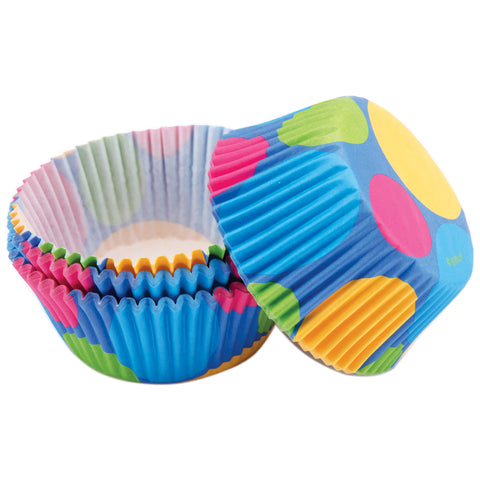 Standard Baking Cups-Retro Dots 75/Pkg