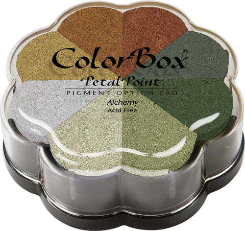 ColorBox Pigment Petal Point Ink Pad 8 Colors-Metalextra Alchemy