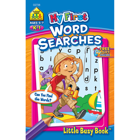 My First Little Busy Book-Word Search - Grades K-1