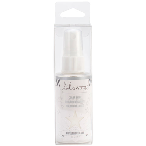 Heidi Swapp Color Shine Spritz 2oz-White