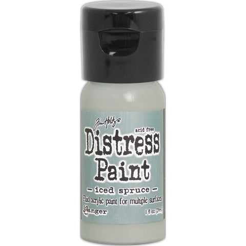 Tim Holtz Distress Paint Flip Top 1oz-Iced Spruce