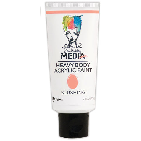 Dina Wakley Media Heavy Body Acrylic Paint 2oz-Blushing