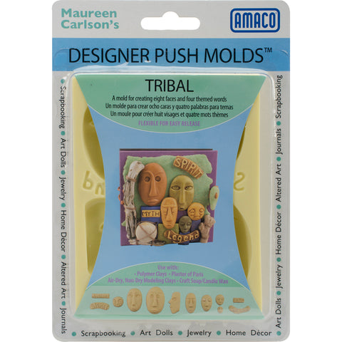 Designer Push Molds-Tribal