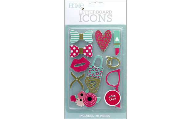 DieCuts Letterboard Icons Boss Lady