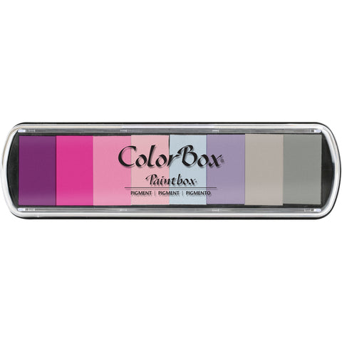 ColorBox Pigment Paintbox Ink Pad 8 Colors-Love