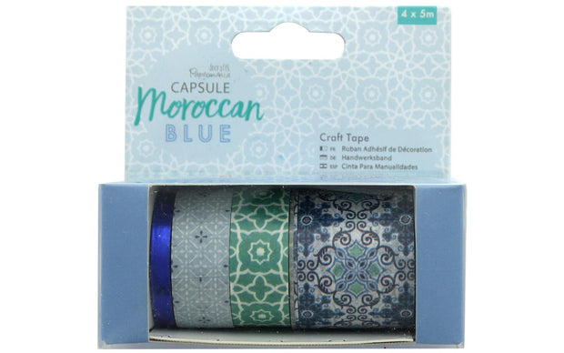 Docrafts PM Capsule Craft Tape Moroccan Blue