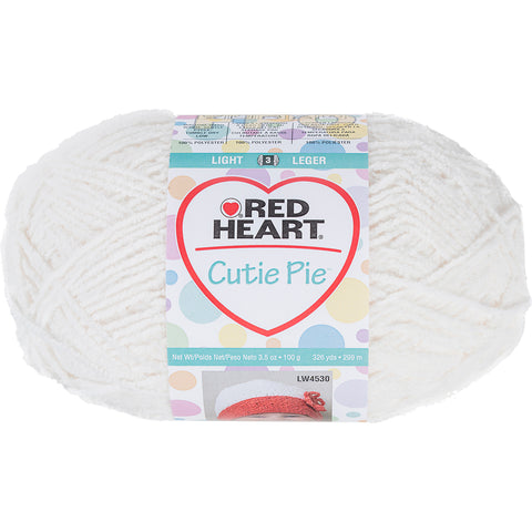 Red Heart Cutie Pie Yarn-Cotton